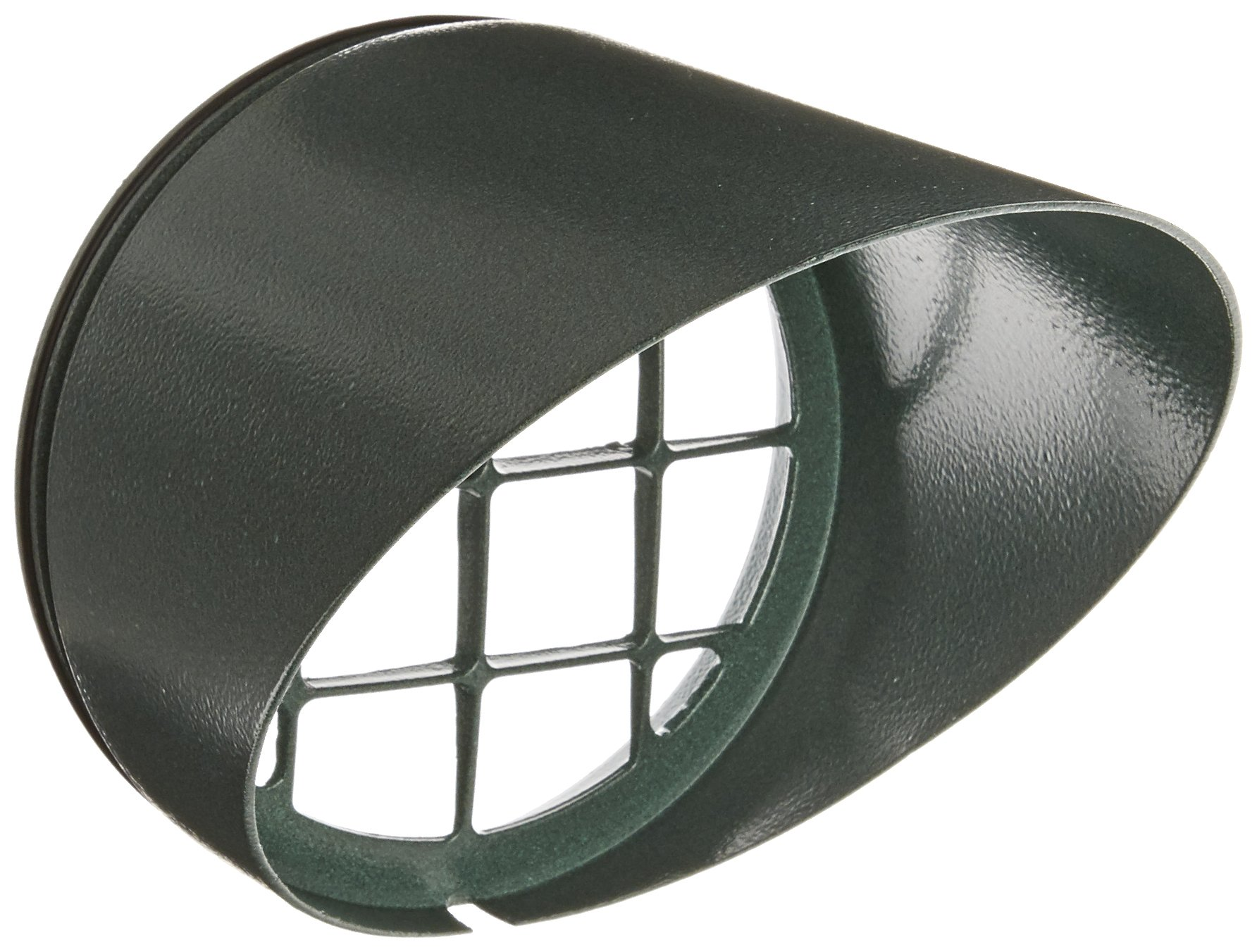 RAB Lighting HV1VG H System Visor, Aluminum, 5-5/8'' Diameter x 6-1/4'' Height, Verde Green