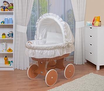 WALDIN Baby Stubenwagen Set Mit AusstattungXXLBollerwagenkomplett6 Modelle