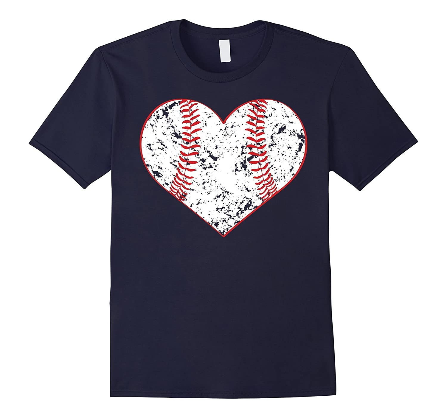 Baseball Heart Shirt Softball Mom Sports Gift-TH