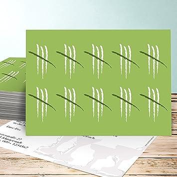 Einladung 40 Geburtstag, Strichliste 40 30 Karten, Horizontal Einfach  148x105 Inkl. Weiße Umschläge