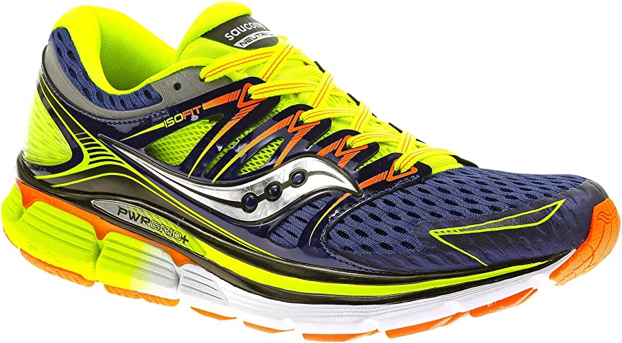 Saucony Zapatilla Triumph ISO Blue-Citron-Vizi Orange Talla 10,5 USA: Amazon.es: Deportes y aire libre