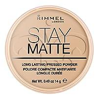Rimmel - Cipria compatta Stay Matte, n° 004 Sandstorm
