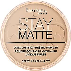 Rimmel London Stay Matte Pressed Powder, 004 Sandstorm