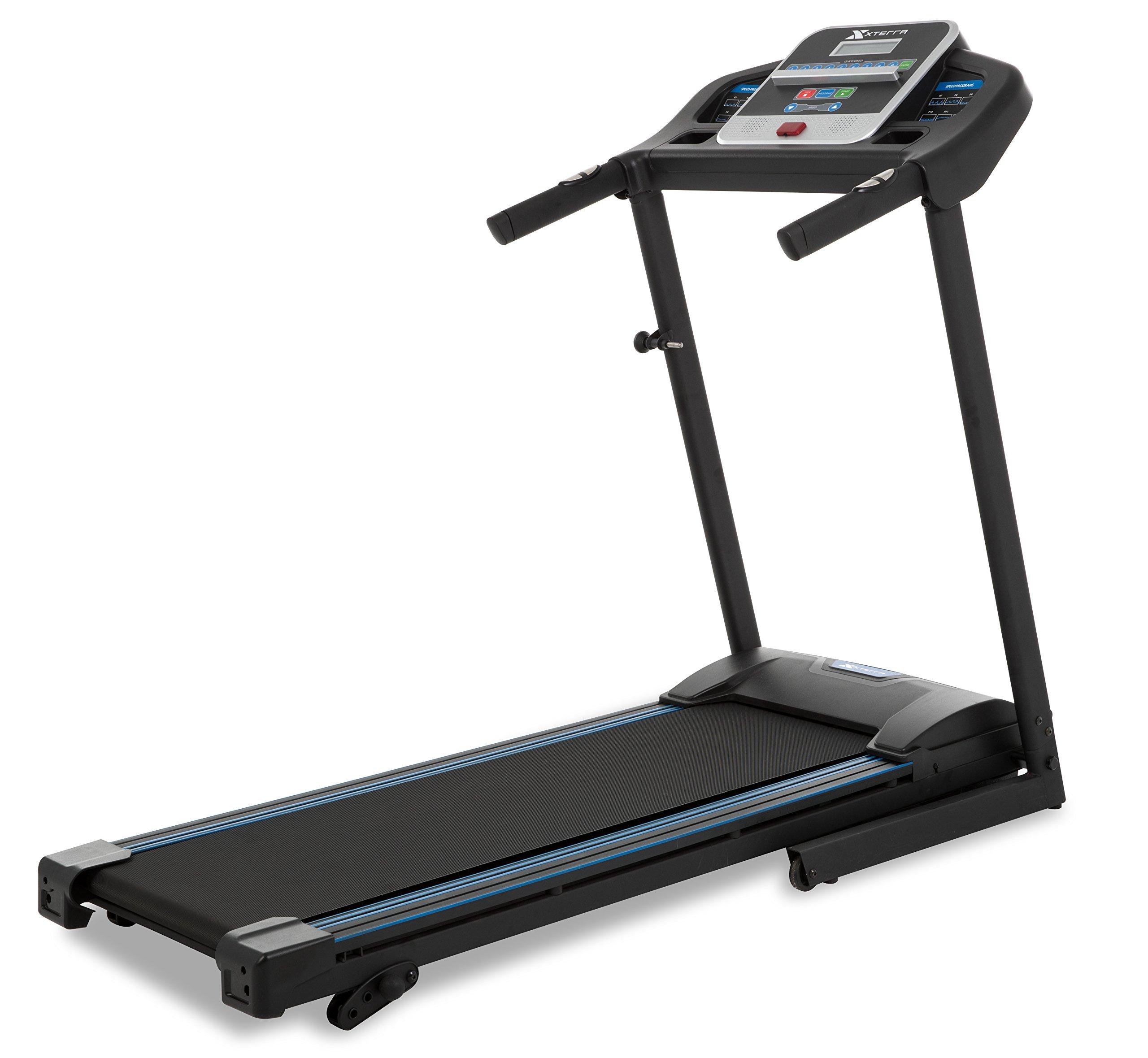 XTERRA TR150 Folding Treadmill Black by Xterra Fitness