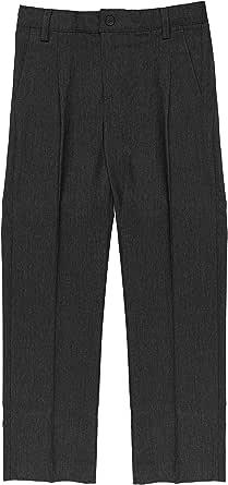 Minime Pantalones Gris Oscuro Vestir Colegio Elastano