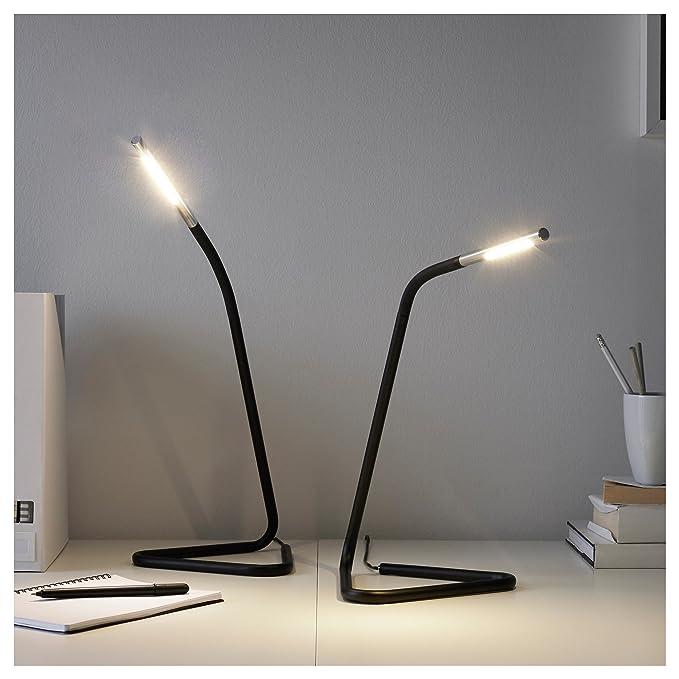 Amazon.com: IKEA 302.669.89 Hårte - Lámpara de trabajo LED ...