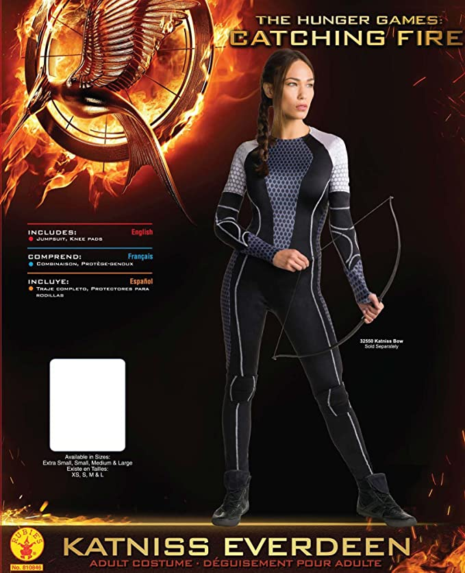 Rubies Costume Co Womens The Hunger Games Katniss Bow
