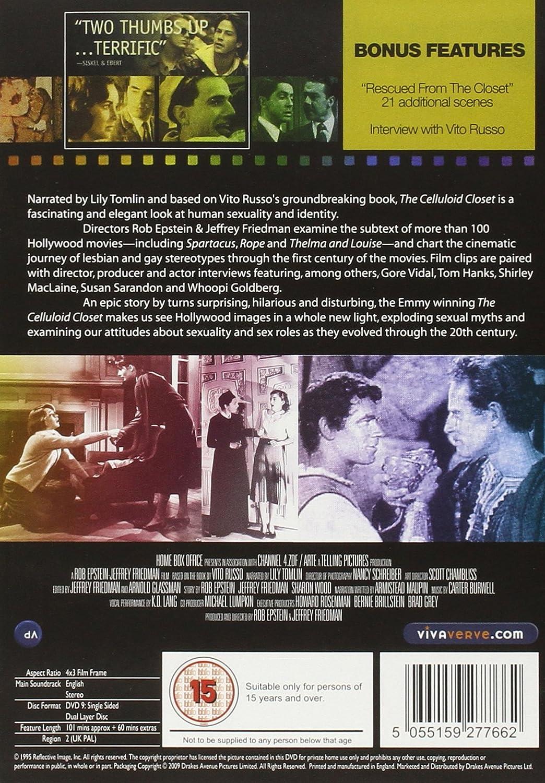 The Celluloid Closet [DVD] [1995] [Reino Unido]: Amazon.es: Jeffrey Friedman, Rob Epstein: Cine y Series TV