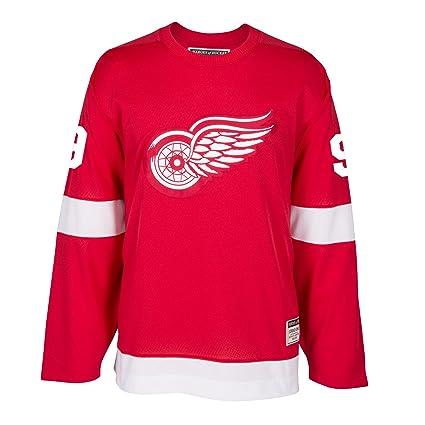Image Unavailable. Image not available for. Color  Gordie Howe Detroit Red  Wings CCM Premier Throwback Jersey ... b89b6d4a7de