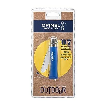 Amazon.com: Opinel - Navaja plegable de acero inoxidable ...