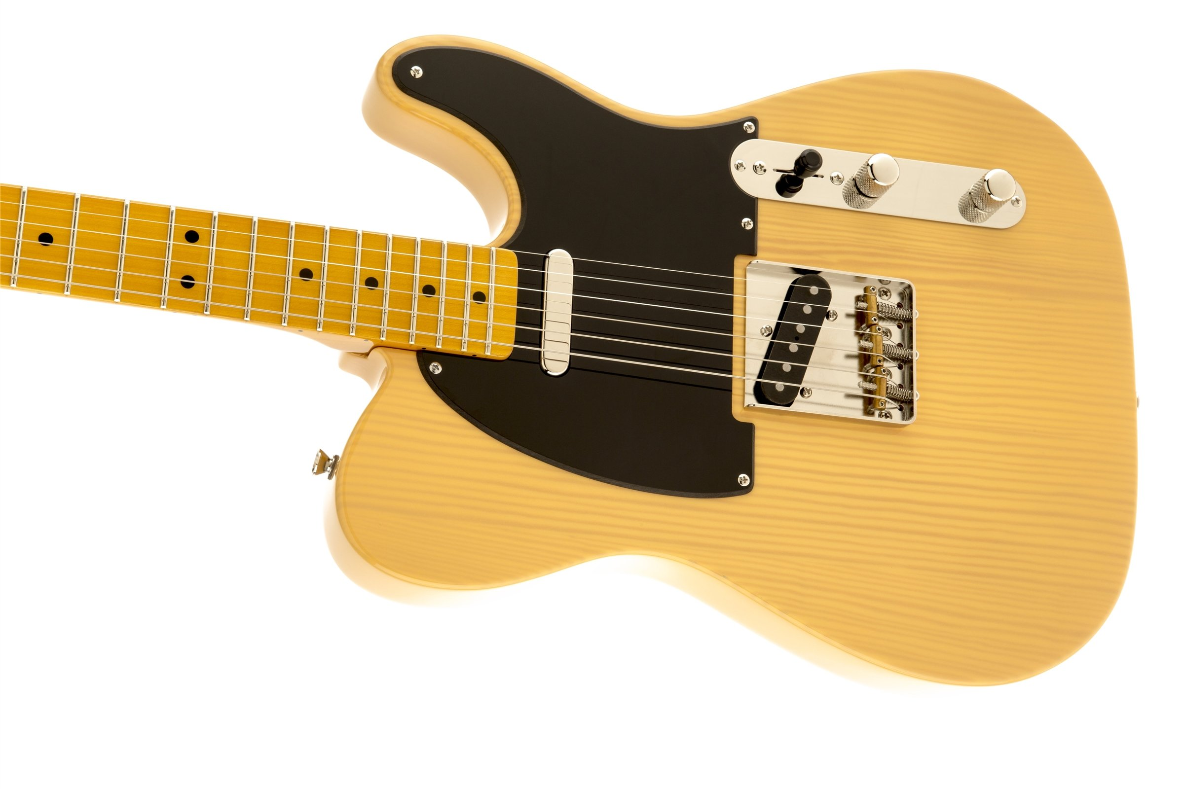 Squier by Fender Classic Vibe 50's Hand Telecaster Electric Guitar - Butterscotch Blonde - Maple Fingerboard by Fender (Image #5)