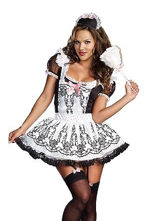 Amazon dreamgirl womens maid to order dress blackwhite dreamgirl womens maid to order dress blackwhite small solutioingenieria Gallery