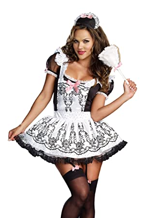 french maid costume Busty