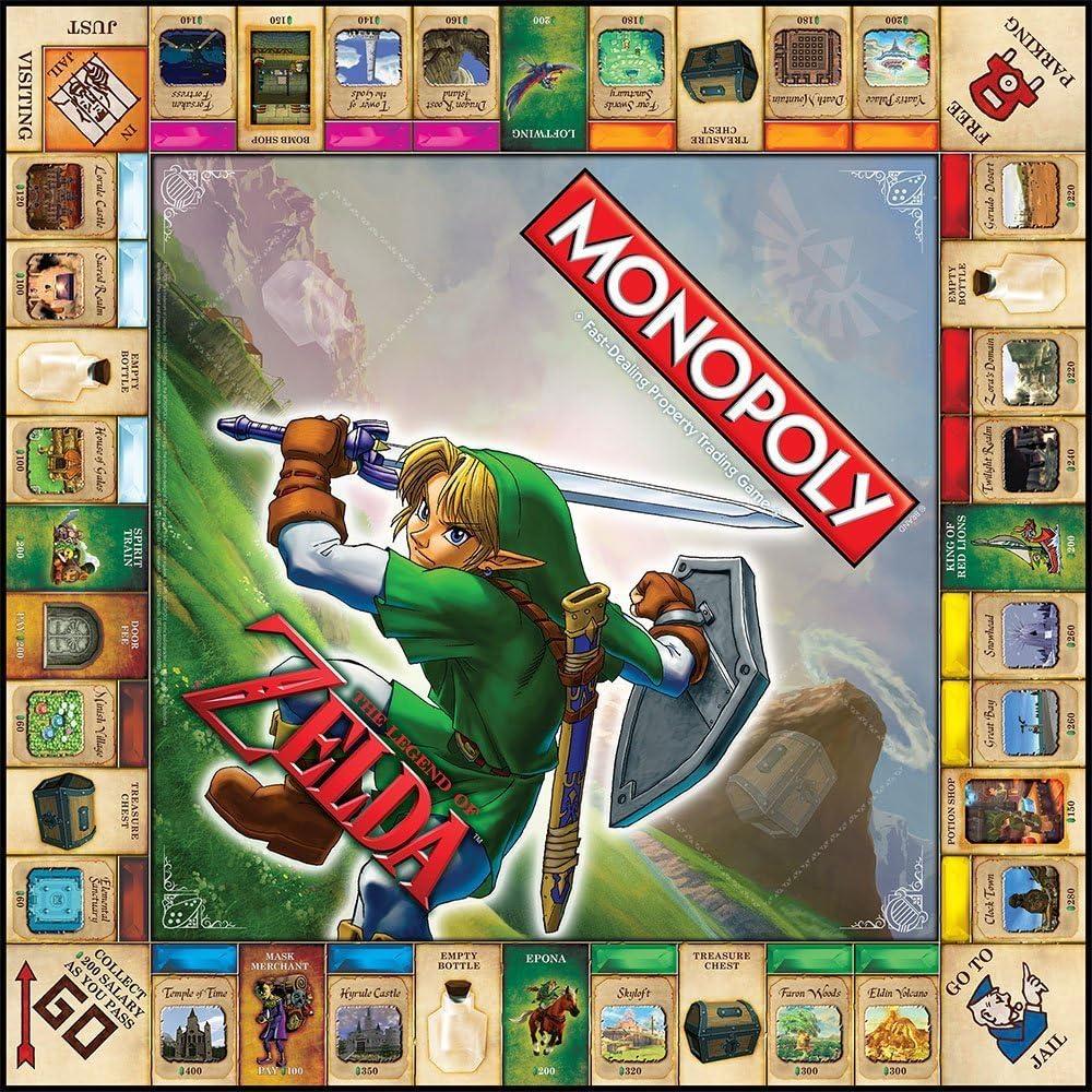 USAopoly Monopoly The Legend of Zelda Collectors Edition by: Amazon.es: Juguetes y juegos