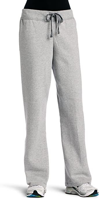 Champion Womens Fleece Open Bottom Pant