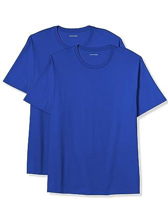 d052d93a5 Amazon.com: Amazon Essentials Men's Big & Tall 2-Pack Short-Sleeve Crewneck  T-Shirt fit by DXL: Clothing