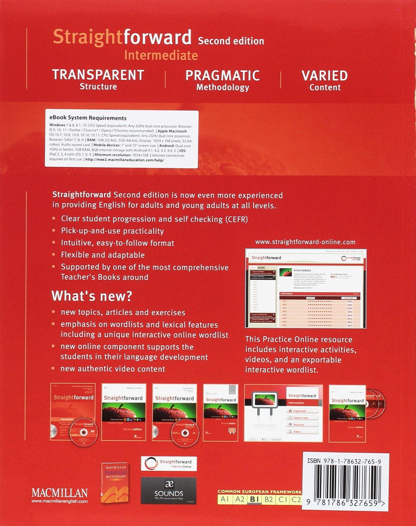 STRAIGHTFWD Int Sb ebook Pk 2nd Ed Straightforward: Amazon.es: Roy ...