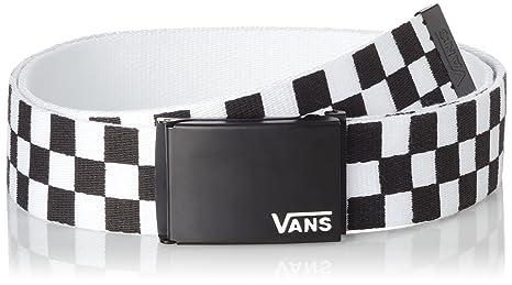 13a92d6790 Image Unavailable. Image not available for. Colour  Vans Deppster Web Belt  - Black ...
