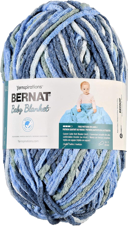 Bernat Baby Blanket Yarn, Lovely Blue