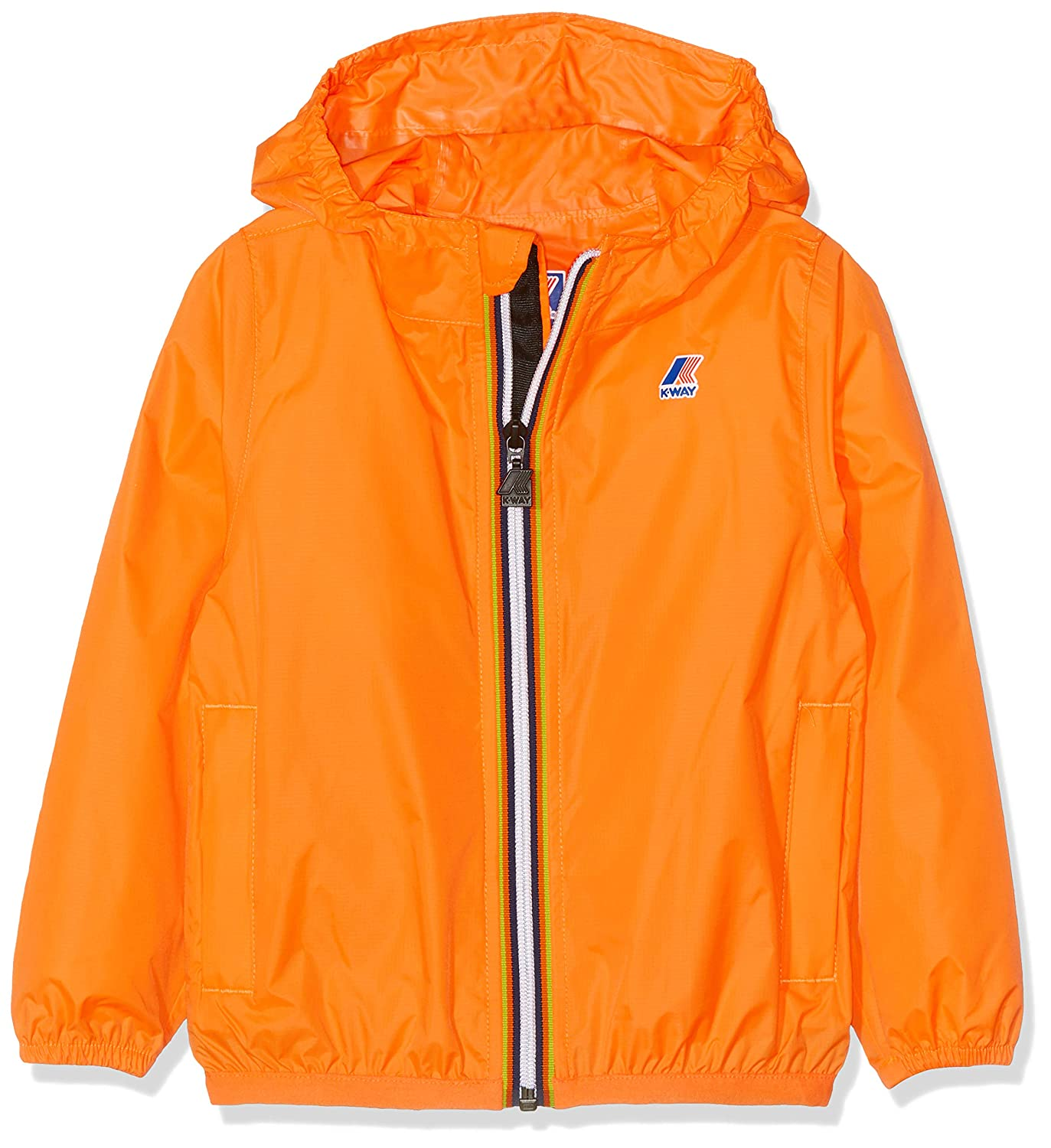 Arancione (Orange Extrafluo Z05) 128 K.Way Jungen Claude Regenjacke
