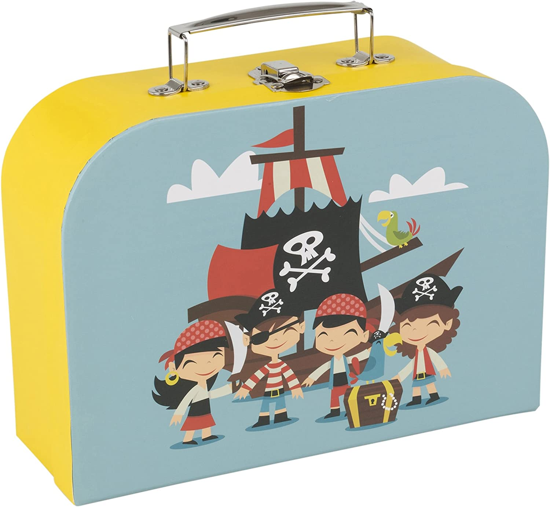 3 St/ück Boat Design URBN LIVING /® 3-Teiliges Kinder-Koffer-Set