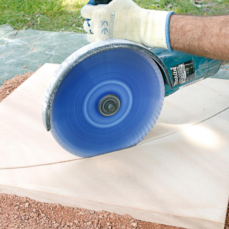 La Brique Le B/éton Les Mat/ériaux de Construction -230x7.0mmx22.2mm Etc FIXKIT Disque /à Tron/çonner Diamant/é pour Le Marbre Le Granit