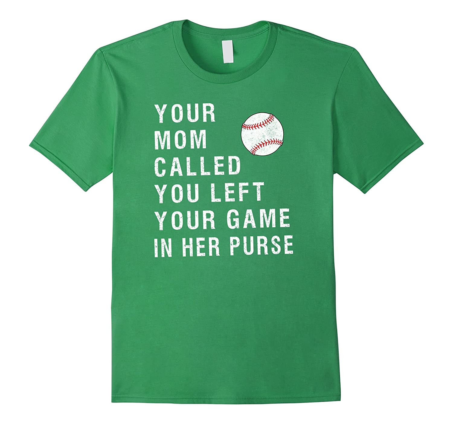 Your Mom Called Your Game Is In Her Purse Athletic T Shirt-TH