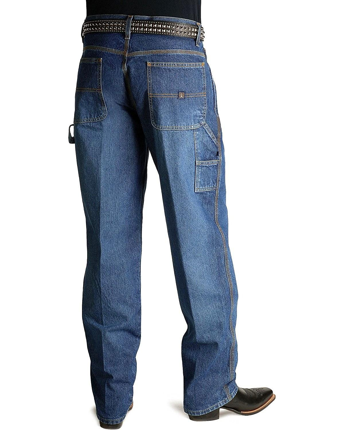 Mb90434002 Ind Cinch Mens Jeans Blue Label Utility Fit