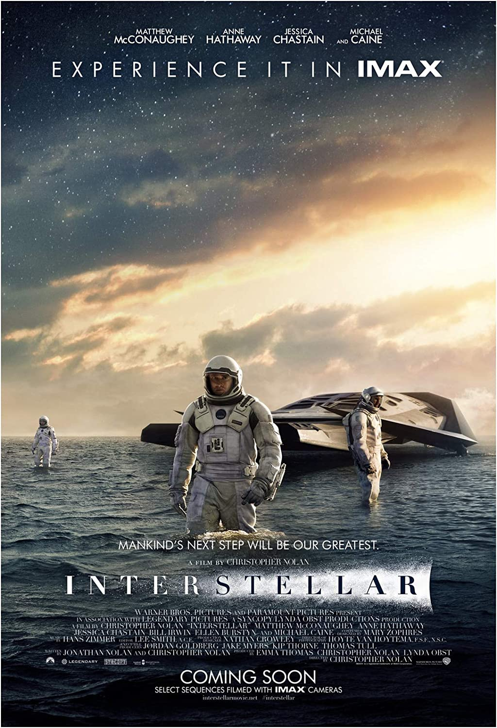 Image result for interstellar movie poster""