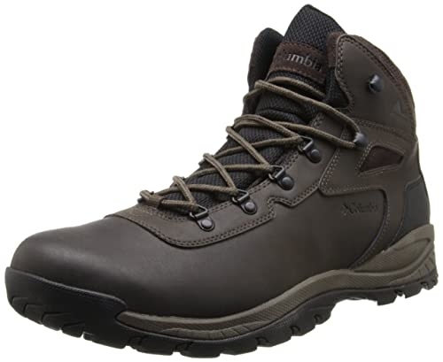 Columbia Men's Newton Ridge Plus Hiking Boot,Cordovan/Treasure,8 M US