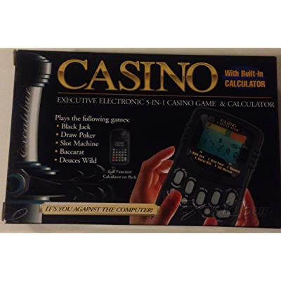 Casino Electronic Game & Calculator: Toys & Games