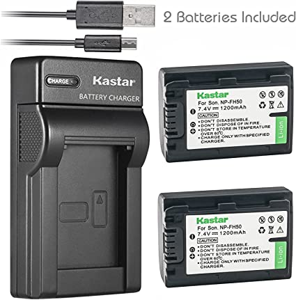 Dual Battery LCD Charger For Sony NP-FP50 NP-FP60 NP-FP70 NP-FP90 NP-FH60 LED