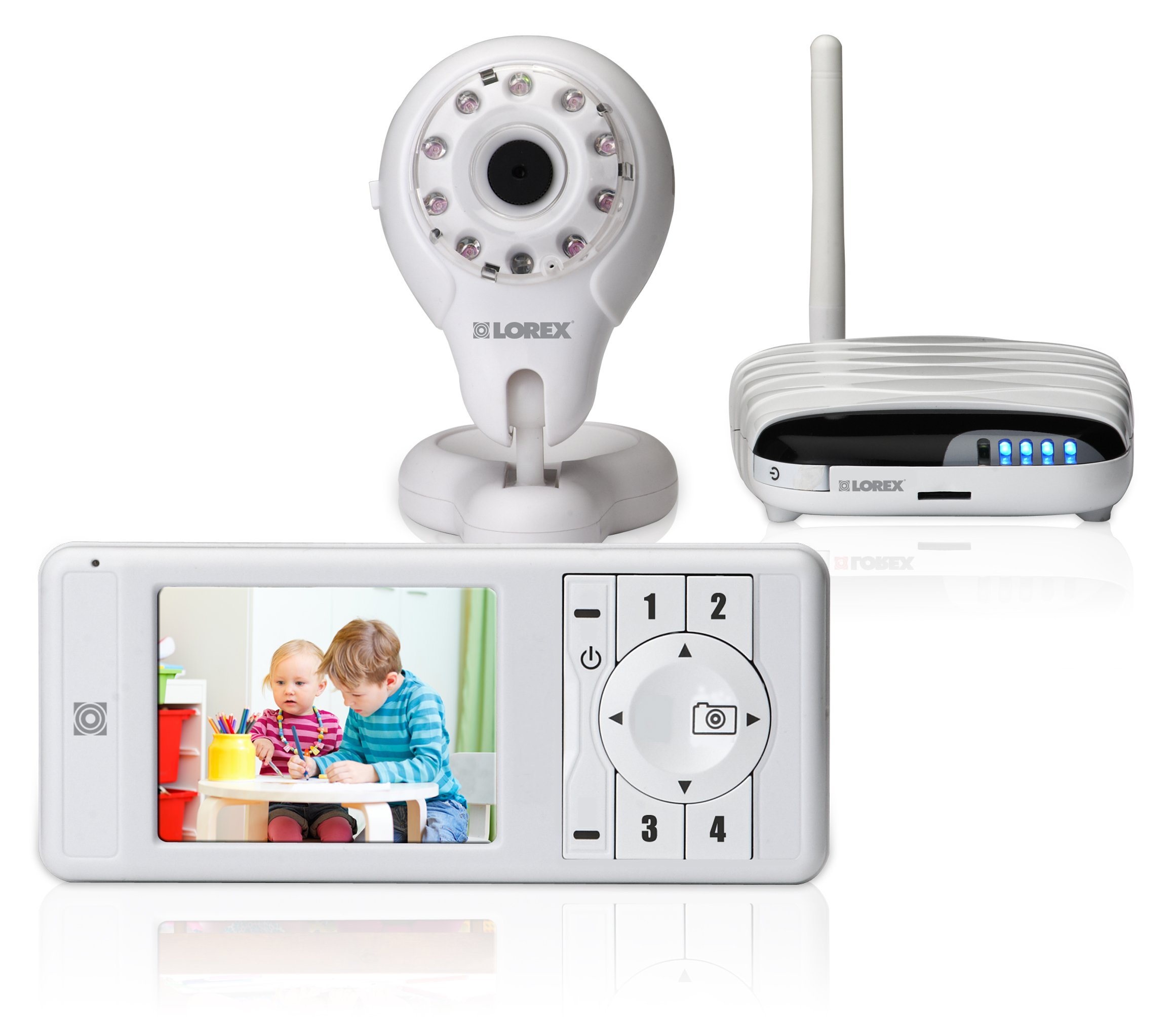 Lorex LW2031 LIVE connect Wireless Video Monitor with Skype by Lorex
