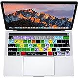 XSKN - Inglés Ableton Live acceso directo teclado piel de silicona para Apple Multi Touch -