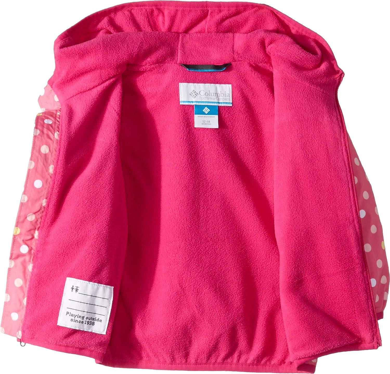 Wild Geranium Polkadot 4T Columbia Kids Baby Girls Mini Pixel Grabber/¿ II Wind Jacket Infant//Toddler
