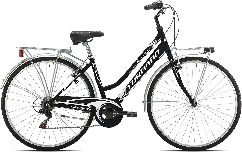 Torpado - Bicicleta urbana Albatros de mujer de 28 pulgadas y 6 V ...