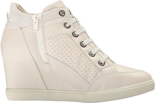 Geox Damen D Eleni C Hohe Sneaker, 38 EU i841O