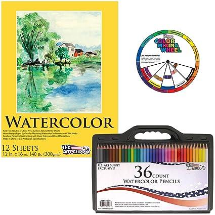 Art Supplies Painting Pad  Sketch album Watercolor Paper Colored Pencil Book