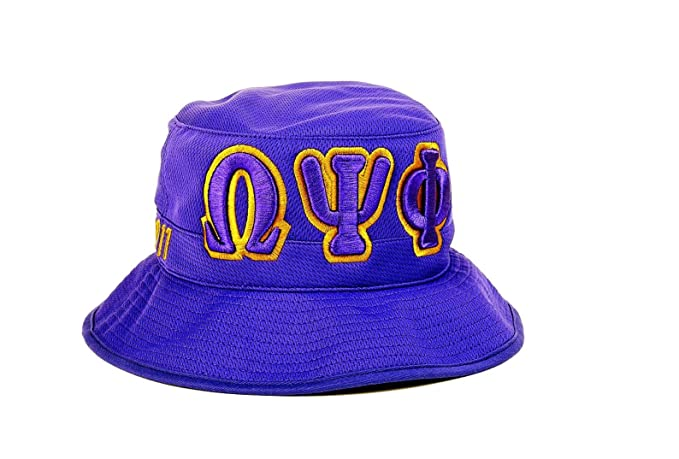 Image Unavailable. Image not available for. Color  Omega Psi Phi Bucket Hat d5dccd58fd6