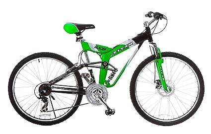 All Terrain Bike >> Amazon Com Titan Glacier Pro Alloy Dual Suspension All Terrain