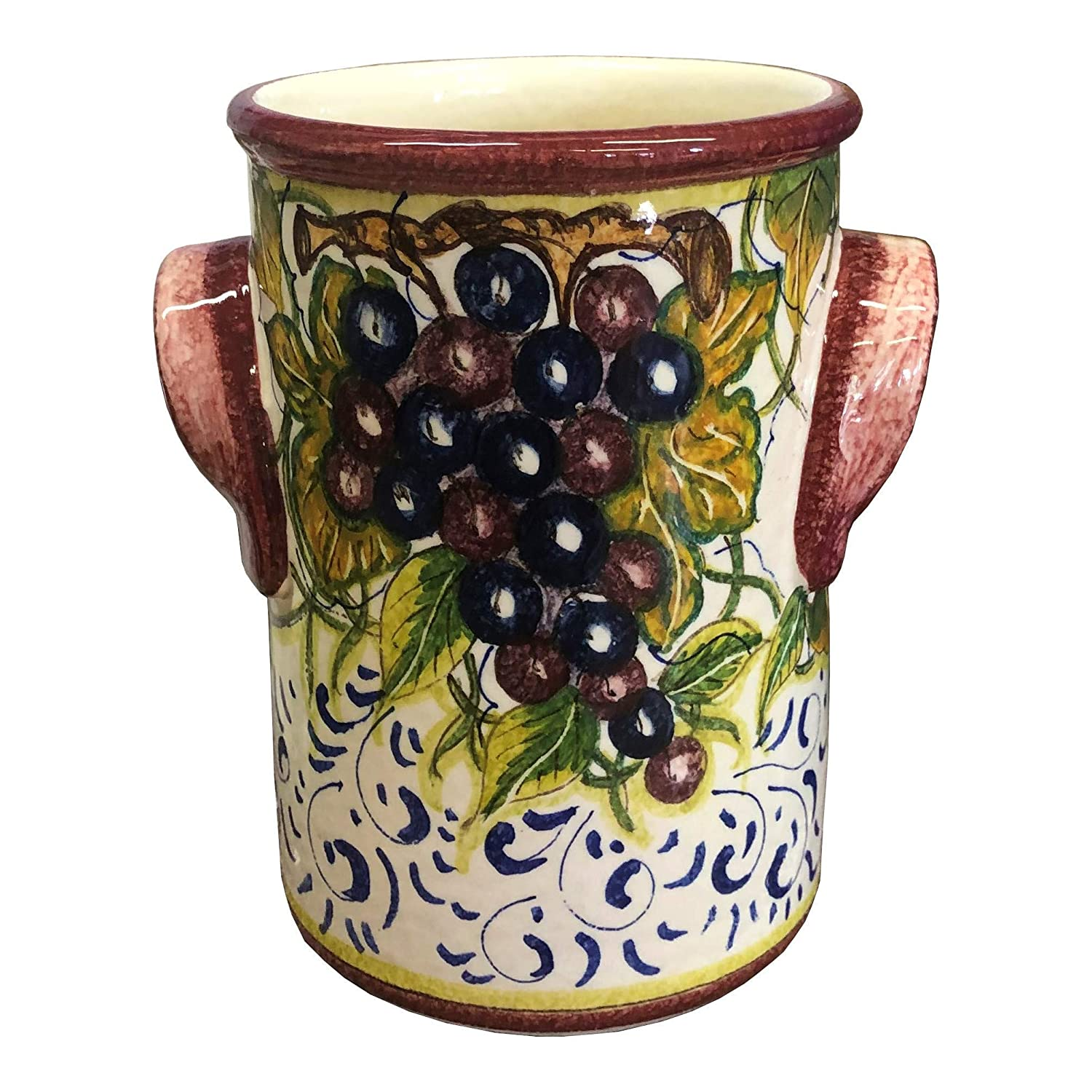 Italian Ceramic Utensil Holder