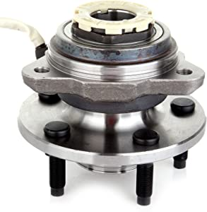 cciyu 515027 Wheel Hub and Bearing Assembly Replacement for fit Ford Ranger Mazda B3000 B4000 Pulse Vacuum Lock Hub Front Wheel Hubs with ABS (1)