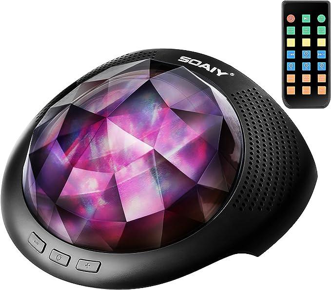 SOAIY LED Luz de Colores Cambiables Proyector para Relajación con ...
