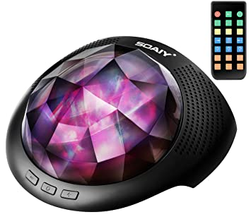 Amazon.com: Soaiy Aurora - Proyector de luz nocturna y ...