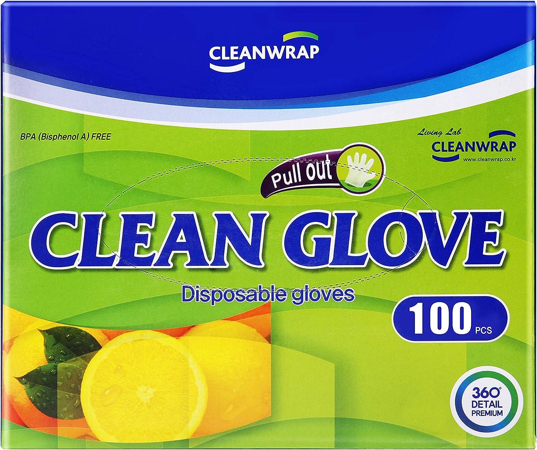 Clean Disposable Gloves 100Piece, LDPE, BPA FREE, Transparent glove, Food handling, Safe glove, Household Gloves, Household Cleaning Gloves, Food gloves, Disposable gloves