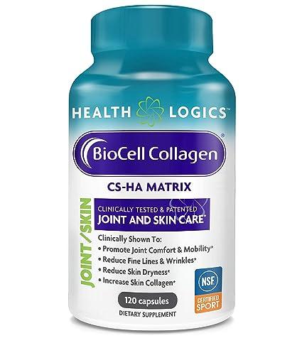 Health Logics - Cuidado del empalme y de la piel del colágeno de BioCell - 120