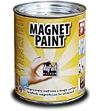 MagPaint® Magnetic Paint 1.0 litre (2sqm coverage) (Pack of 1)