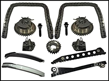 3-valve Cadena de distribución Kit Cam Phaser para 04 - 08 ford f150 Lincoln 5.4l: Amazon.es: Coche y moto