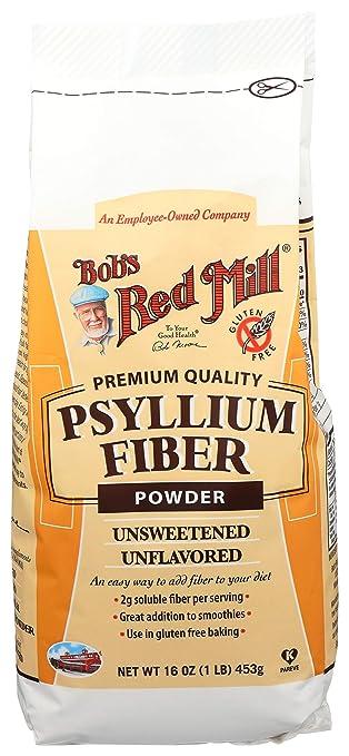 Bobs Red Mill Fiber Powder Psyllium, 16 oz