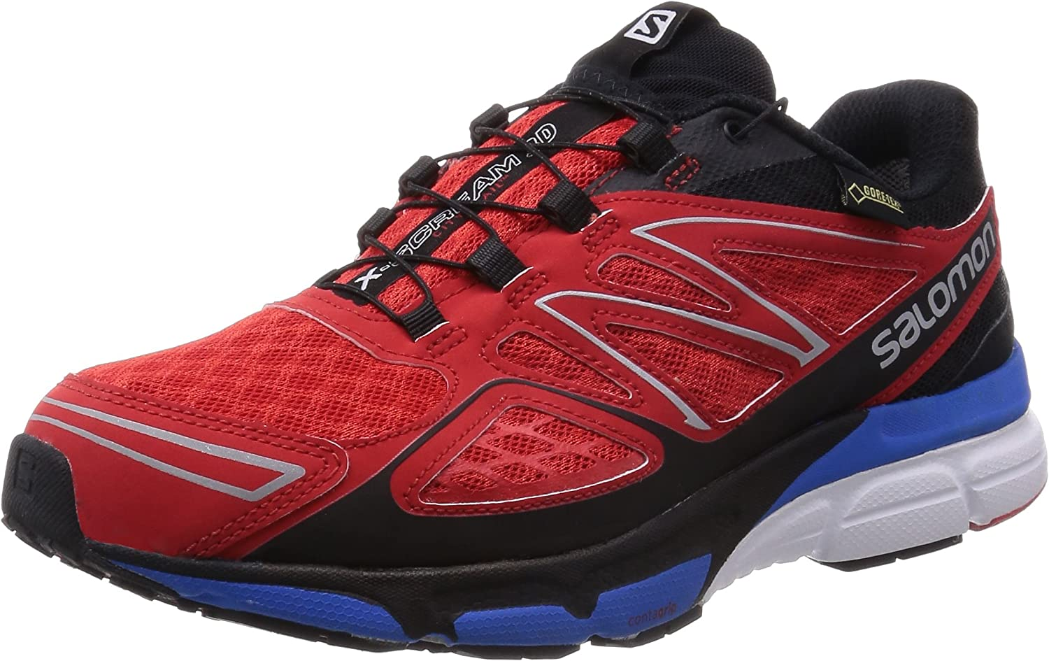 Salomon Rosso/BLU EU 46.5 (UK 11.5): Amazon.es: Zapatos y complementos